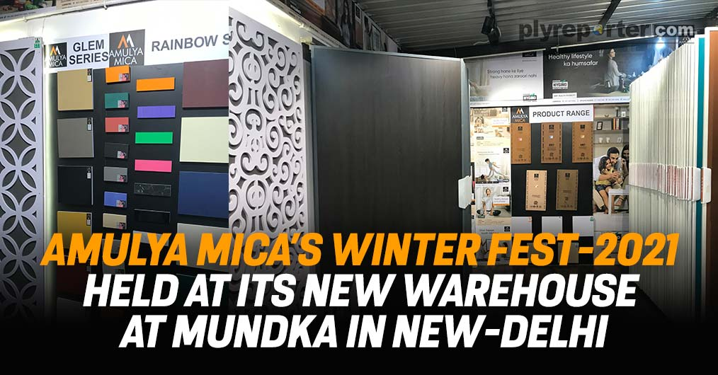 AMULYA MICA'S Winter Fest-2021 Held At Its New Warehouse At Mundka In New-Delhi
