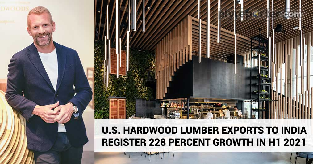 U.S. Hardwood Lumber Exports To India Register 228 Percent Growth in H1 2021