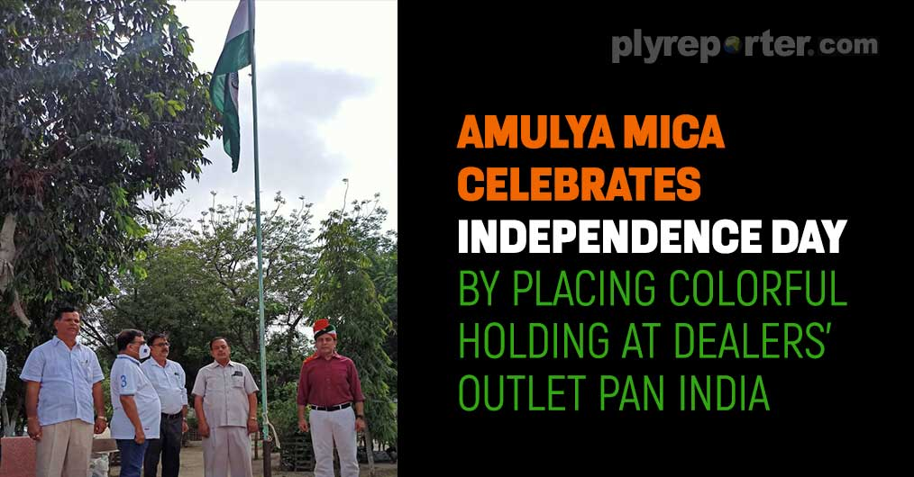 Amulya Mica Celebrates Independence Day By Placing Colorful Holding At Dealers' Outlet Pan India