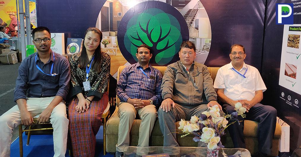 """Floresta WPC has participated in International Exhibition """"9th Bhutan Construction Expo 2018"""" held recently at Thimphu, Bhutan."""