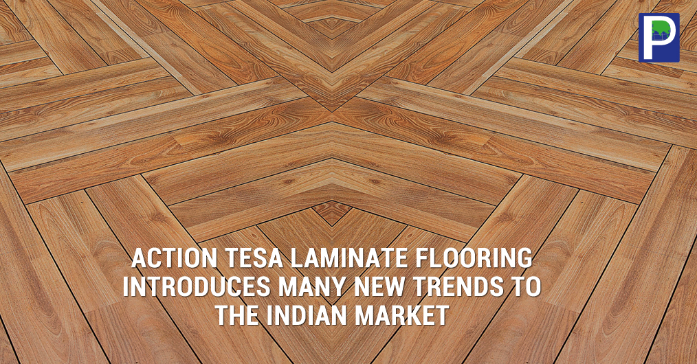 Action TESA Flooring is manufactured by Direct Pressure Laminated (DPL) flooring process where in the anti-abrasive aluminium oxide overlay along with the melamine impregnated decorative film is directly fused with the core substrate & the balancing