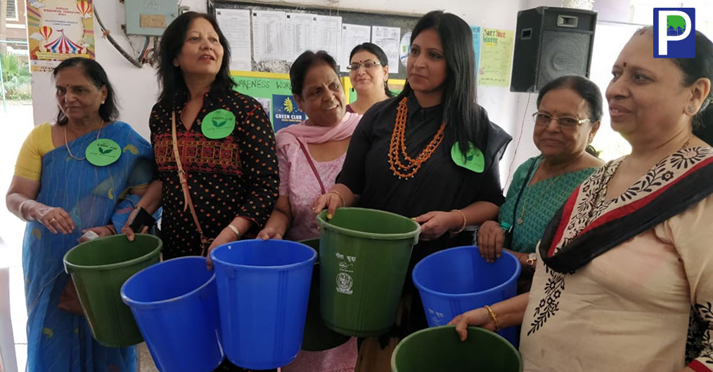 To educate and empower the residents, Green club developed a vision to convert its society, Aashirwad Enclave in patparganj into zero waste society.