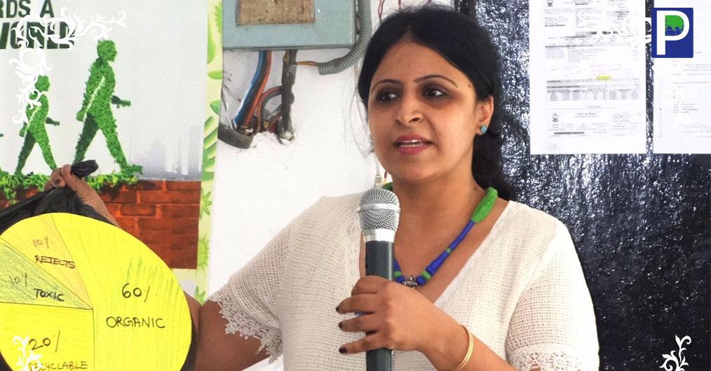 Green Club Doing Green Deeds in East Delhi