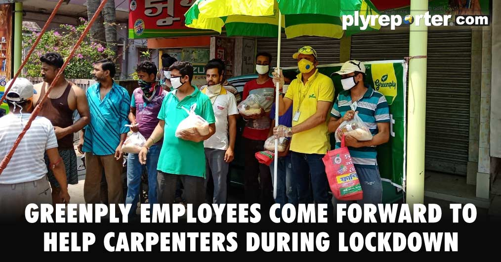 Greenply's employee Soumen Saha, Branch Manager of Durgapur and Howrah region undertook a philanthropic initiative to stand next to people in need during the lockdown due to the Coronavirus pandemic.
