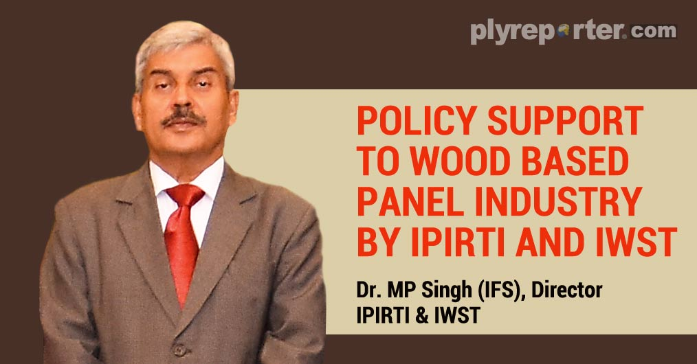 IPIRTI (Indian Plywood Industries Research & Training Institute) wrote a letter to IG Forest Survey