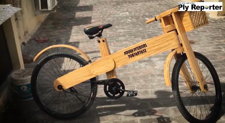 Wooden Cycle: An Innovation by Dhaniram Saggu