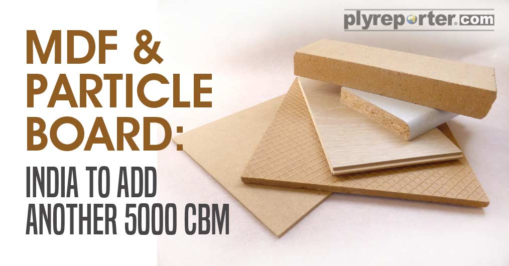 MDF & PARTICLE BOARD