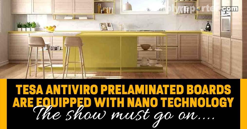 TESA ANTIVIRO Prelaminated Boards