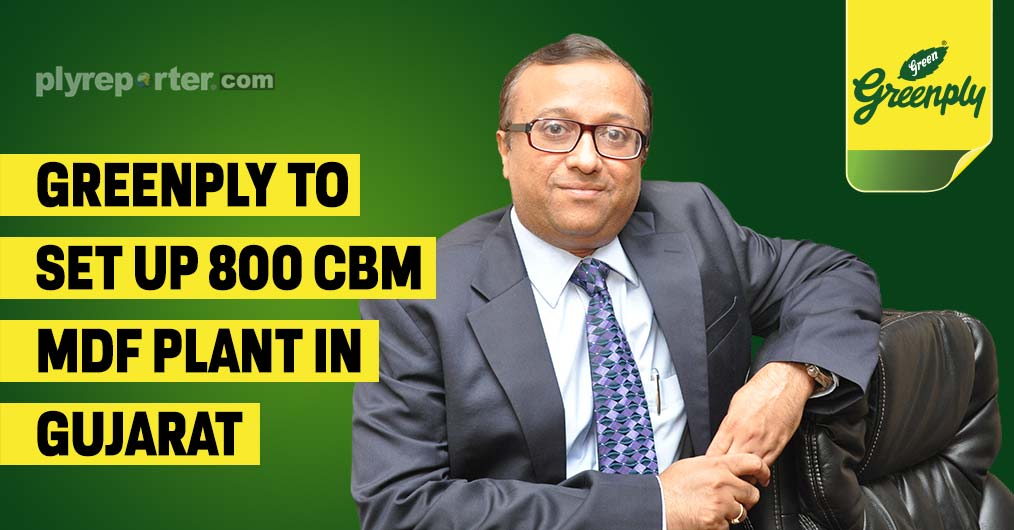 Greenply to set up 800 CBM MDF plant in Gujarat
