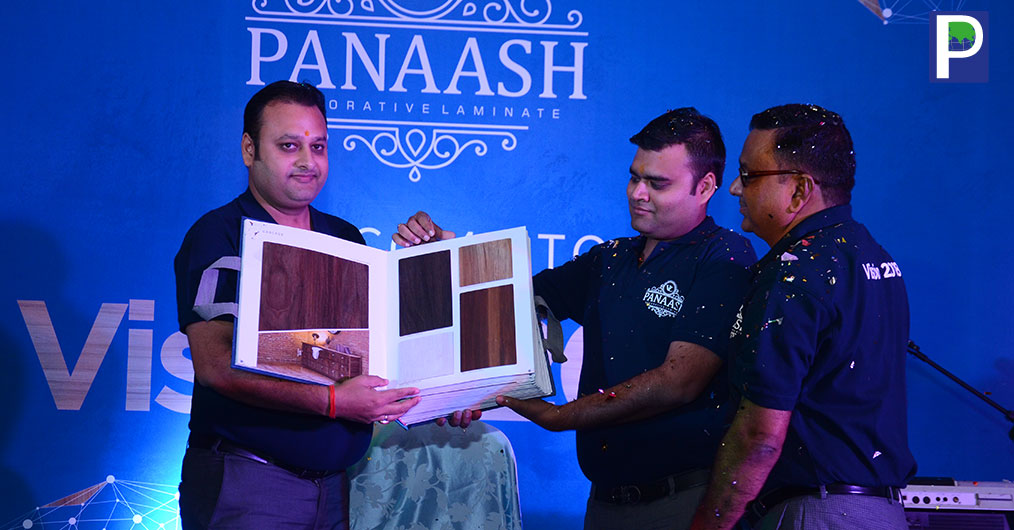 PANAASH brand decorative laminates by Vibrant Laminates Pvt Ltd (VL) has introduced their 1 mm laminate folder in a glittering event organised at hotel Hilton in Lucknow