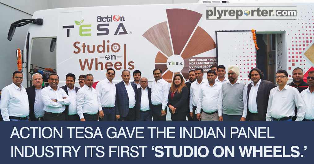 With a lineage marked with innovation and excellence, Action TESA gave the Indian Panel Industry its first 'Studio On wheels.' 23rd November 2019, was the day when this meticulously designed marvel began its journey across India roads bringing to lif