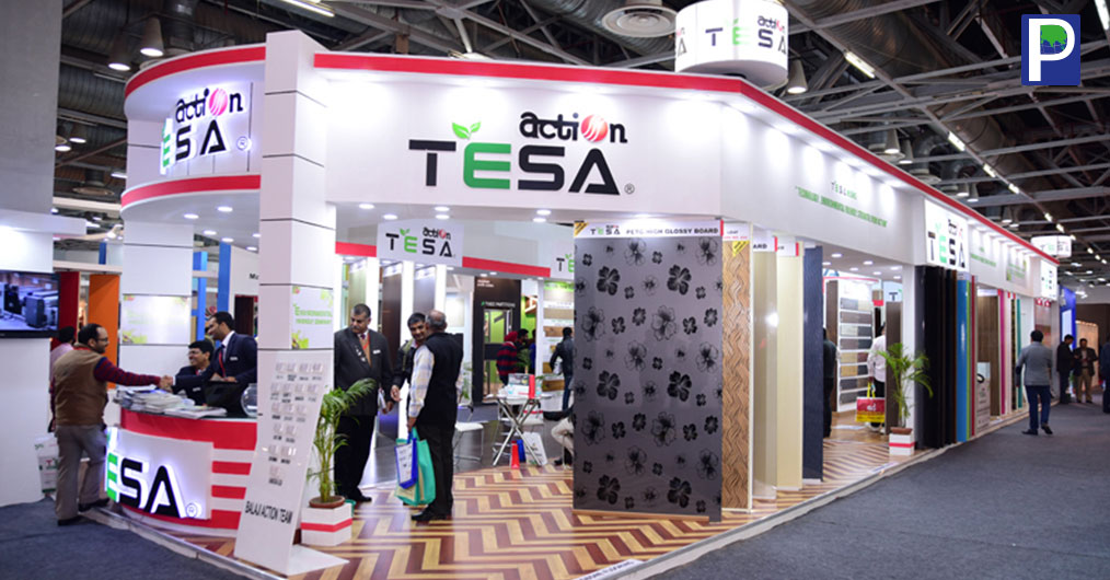 Action TESA showcased their range of products having focused to their recent achievements of MDF and HDF range of products which include Laminated Flooring