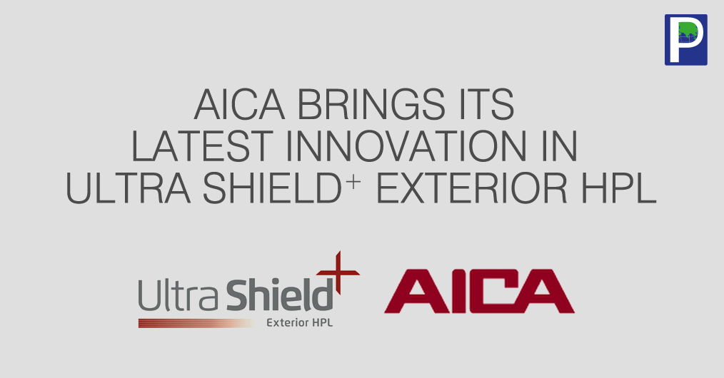 After pioneering the decorative laminate Industry over the years with its flagship brand Sunmica The legacy of excellence continues with Ultra Shield+ Exterior HPL. AICA is all set to bring its latest innovation into the foray of Exterior claddings w