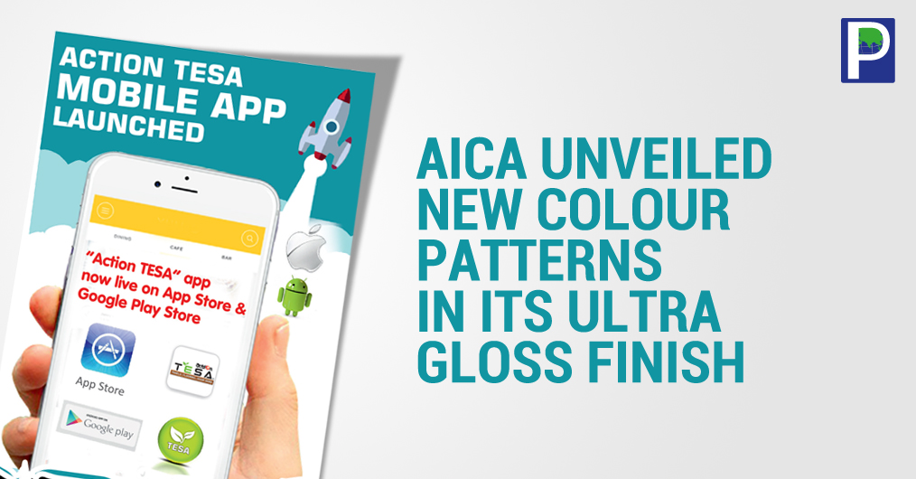 AICA in its prime range has incorporated several new colour patterns in Ultra Gloss Max (UGM) finish. The new variety added in both solid colours and exotic wood grains have enriched its UGM range is matching the needs of contemporary interior design