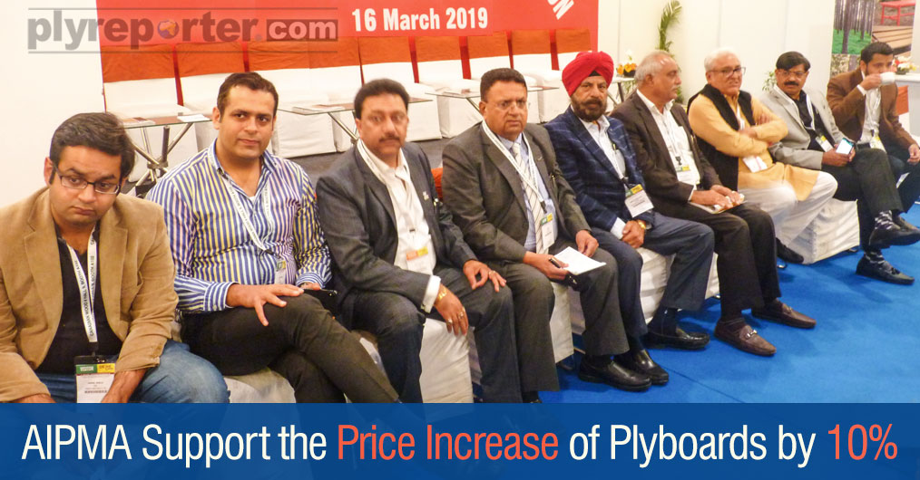 All India Plywood Manufacturers' Association decided to increase the rates of finished products such as plywood, block board, flush door and alternate plywood across the country.