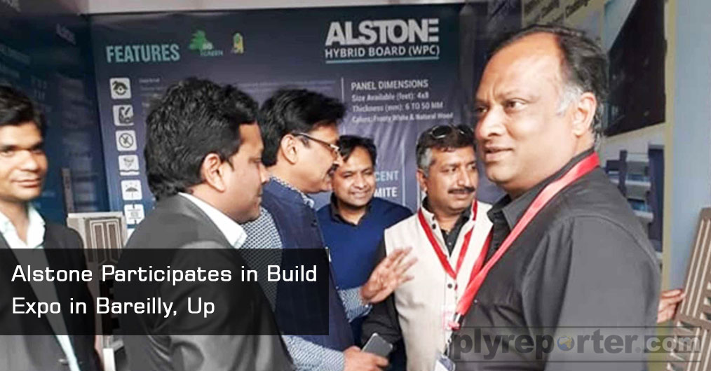 ALSTONE participated in Build Expo Exhibition in Bariely from 30 Nov to 2 Dec 2018. The major architects from nearby towns visited, local end users