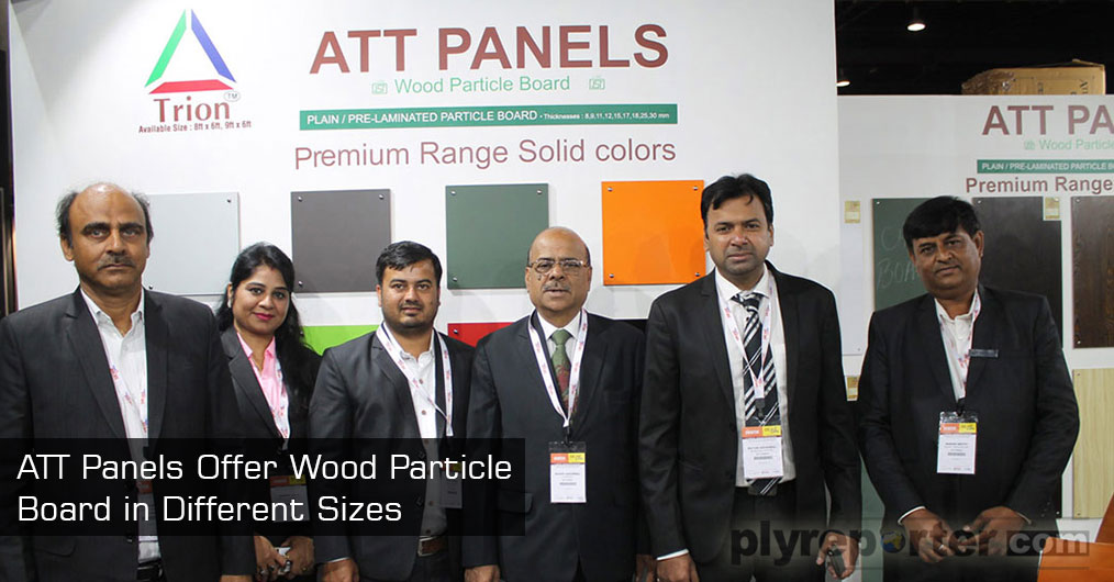 ATT Panels, India's leading particle board manufacturer operating in Plain and Pre - Laminated Particle Board offer wood particle board in different standard sizes such as 8x4 and 9x4