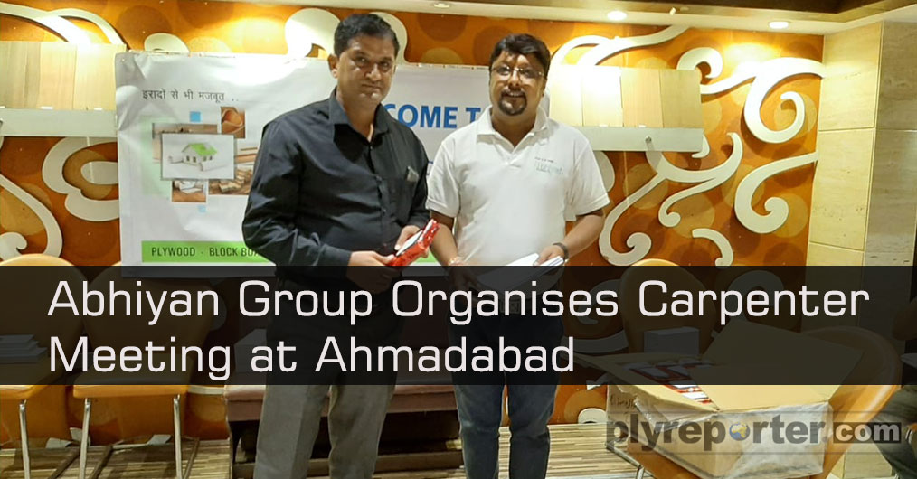 Abhiyan Group Organises Carpenter Meeting at Ahmadabad