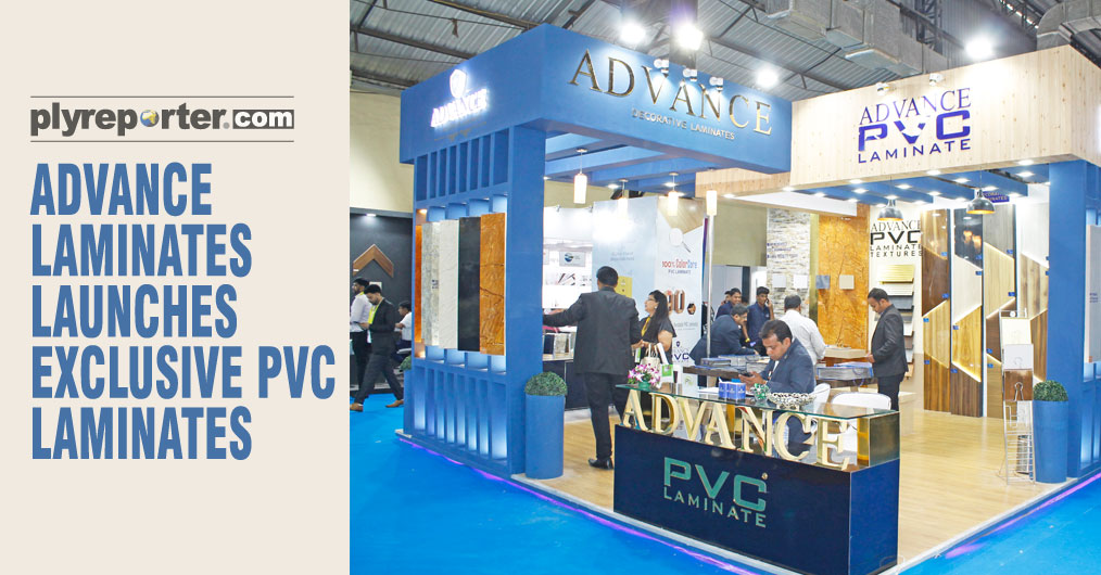 "Advance Laminates presented PVC laminates in stone high gloss and wooden textures. ""Our product offerings are based on the designer concept. The veneered and stone look high gloss laminates received more attention at the exhibition."