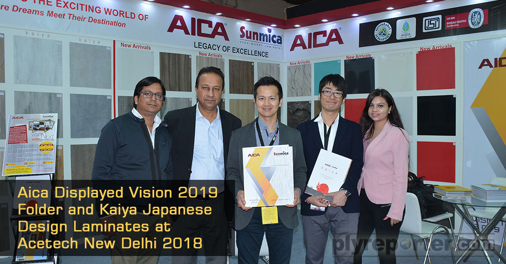 With the legacy of excellence Aica laminates India Pvt Ltd. Marks its presence in the recently held Ace Tech at New Delhi.