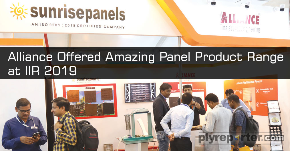 Alliance, the brand by The SUNRISE PANELS showcased the panels' range which is for film face to truck-bus body, entire automobile sector and other industrial sectors. We also displayed amazing products and people were looking specially for sound proo