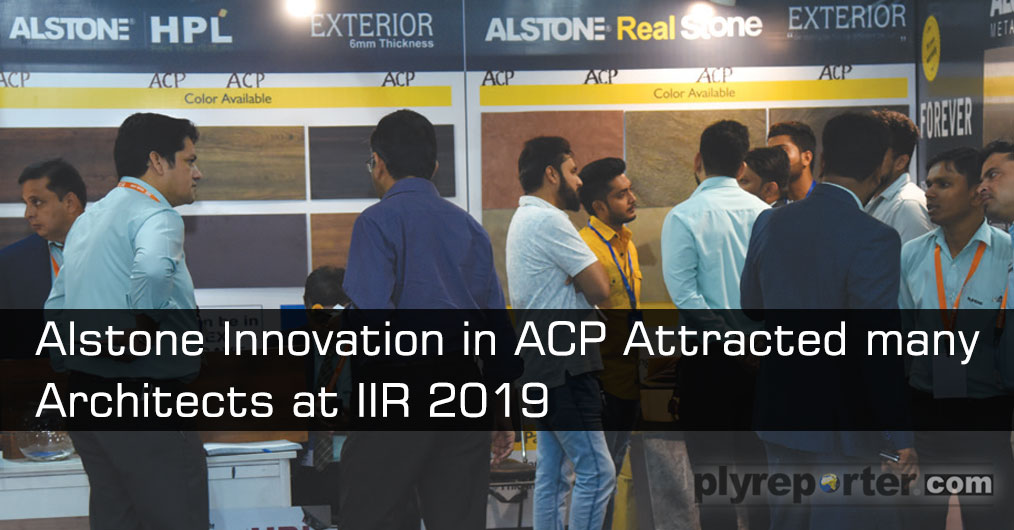 With a wide presence across the country the company's new offerings at the exhibition included High Pressure Laminates (HPL)-in Aluminum, which is quite distinct from kraft paper based ones