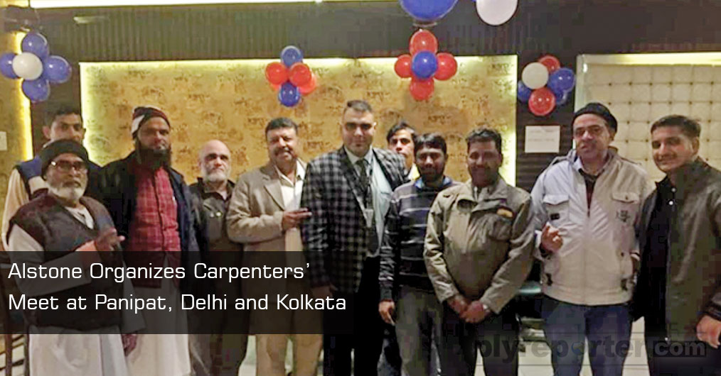 Panipat and Delhi: Alstone organized carpenters' meet at Panipat and Delhi on 11 January, 2019 which facilitated a great opportunity