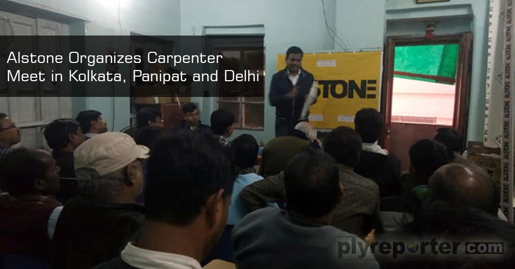 Kolkata Meet: Alstone organised a Carpenter meet in Kolkata on January 12 , 1019 where the best contractors from the area attended the event