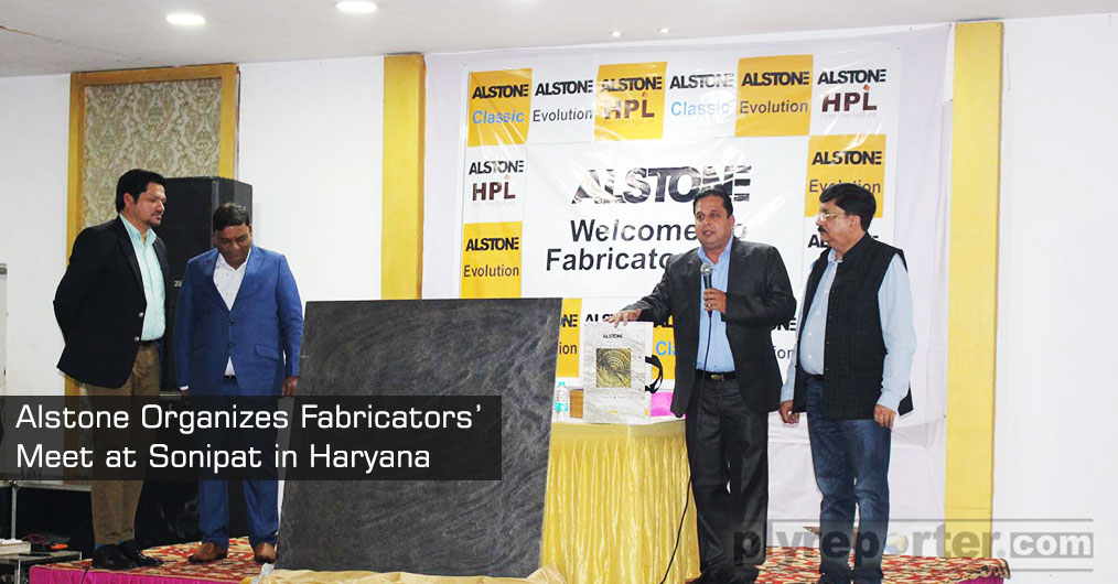 "Alstone organized fabricators' meet at Sonipat in Haryana on March 6, 2019. The venue for the meeting was ""Mamchand Vatika"", Sonipat."