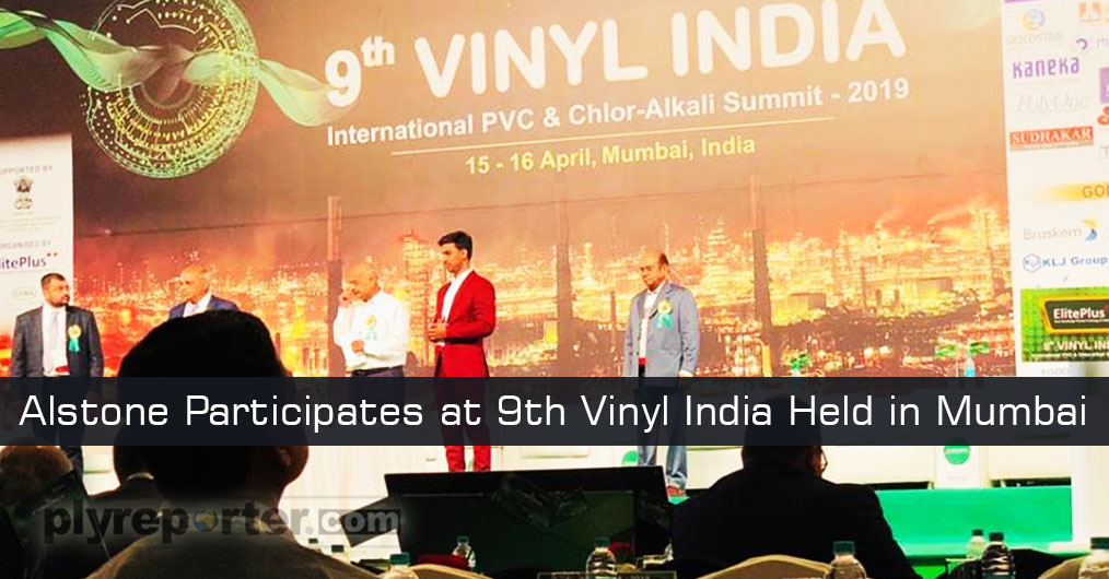 ALSTONE participated at 9th Vinyl India held in Mumbai on April 16, 2019. The event was organized by recently Reliance and Elite Plus.