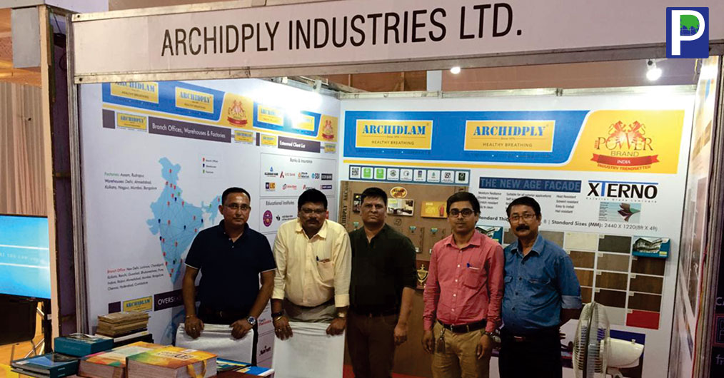ArchidPly participated in The Indian Institute of Architects, Assam, Building Material and Allied products seminar from 26th October to 28th October 2018. In this exhibition approx. 300 plus architects were present.