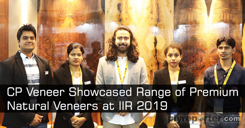 CP Veneer offered top class premium quality veneers with the texture and look of natural wood. The quality offering attracted top class architects and interior designer and veneer lovers present at the exhibition.