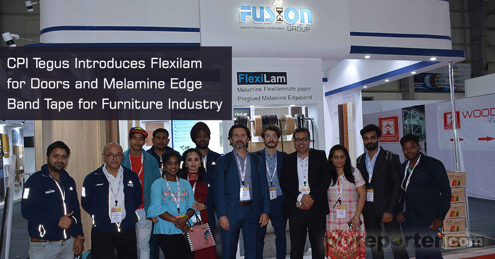 CPI Tegus, a family owned company from Brazil has introduced flexilam - flex board laminates and melamine edge banding in India.