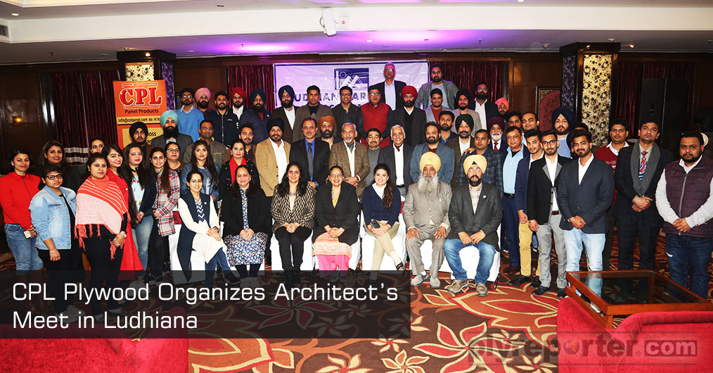 CPL Plywood organized architect's meet on 10th, February 2019, at Regenta Central Klassik in Ludhiana. During the meet a number of architects and engineers were present.