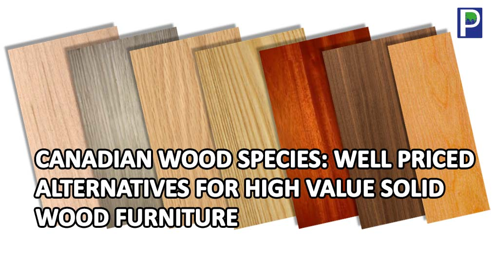 Canadian Wood Species Well Priced Alternatives For High Value Solid Furniture
