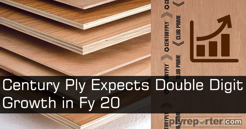 Century Plyboards is looking at double-digit growth this fiscal even as it expects to maintain margins at FY19 levels. The company will balance its portfolio between premium and mass offerings, and increase its distribution presence.