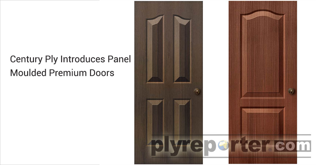 CenturyPly, the front-runner in the Indian plywood and laminate industry, boasts about its premium panel moulded door variants