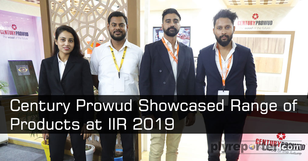 Century Prowud presented their MDF and prelam boards in wide range of shades in pastels and wood grains and Higher Density Fibre Board range PREMIUM PLUS at the exhibition which attracted many architects and interior designers.