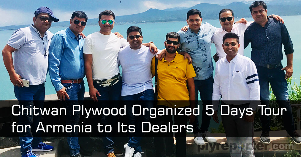 Shiv Sagar Wood products, a Bareilly based leading Plywood Company, organized a 5 - day Armenia Tour for Best Performer Dealers of its Chitwan plywood brand.