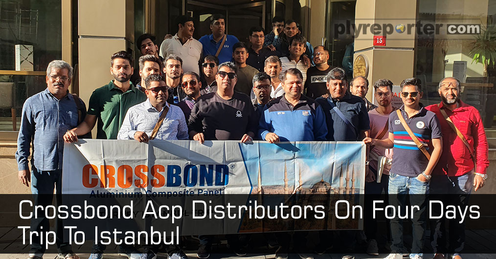 Crossbond organised a trip to Istanbul for its select distributors for 4 days from November 7 to 11, 2019 where all the distributors enjoyed the moment a lot. Crossbond, a brand from the house of Metro Group, is one of the leading manufacturers of AC