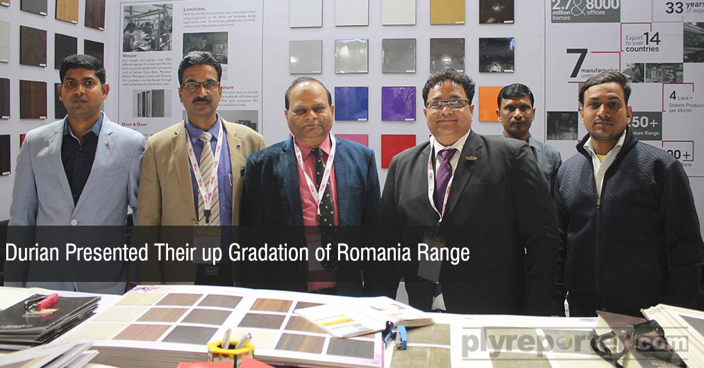Durian presented their up gradation of Romania exclusive range which received very good response from the visitors especially from northern India.