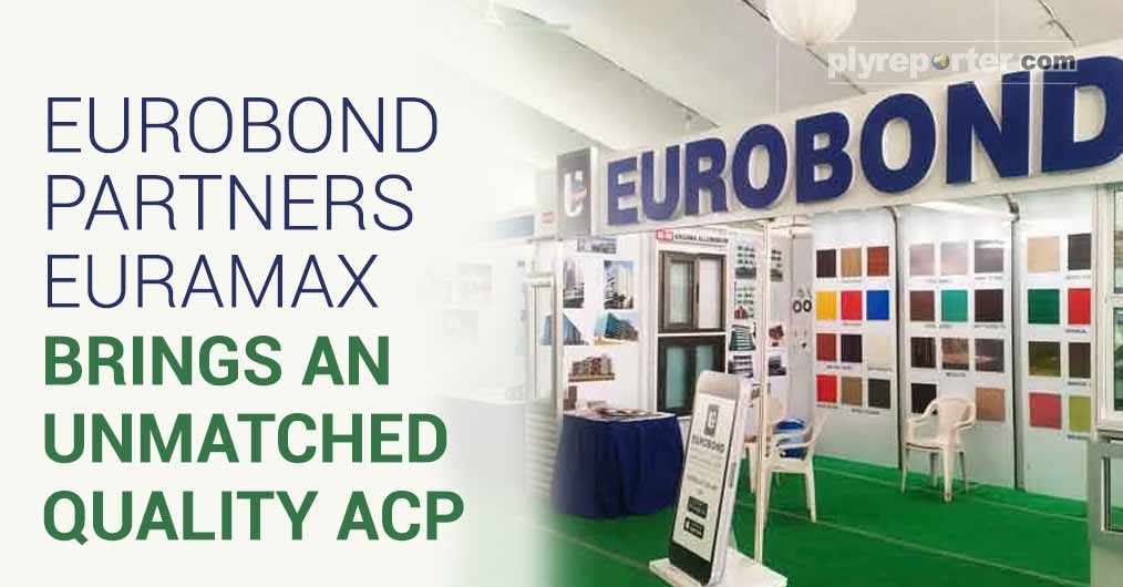 Eurobond has collaborated with EURAMAX - a European leading coil making company and introduced an unmatched quality of ACP with unparallel designs, exciting new colours and textures. Euramax has manufacturing plants at London and Netherlands.