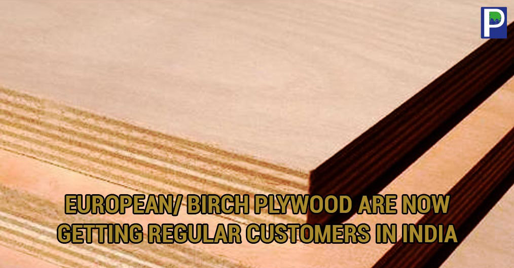 Imported plywood from European country is steadily gaining access to regular demand in India, which is routed through showrooms for high end customers.