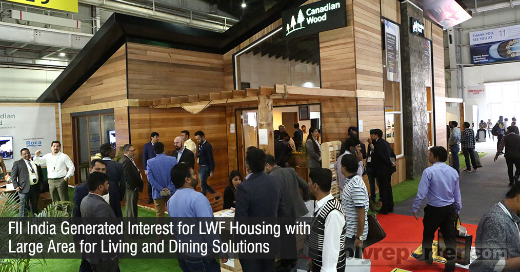 The first North American - style home constructed using the light wood frame (LWF) method is now a part of the creative initiatives of Forestry Innovation Consulting - India (FII)
