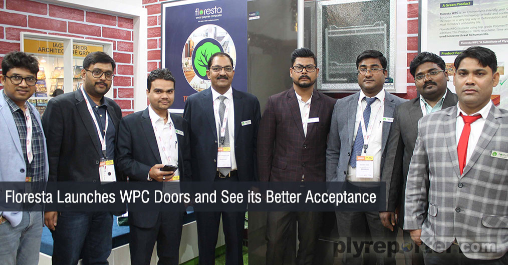 Floresta launches WPC doors and see better acceptance of their actual WPC. Floresta WPC is a European Technology Product.