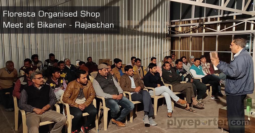 Floresta WPC successfully organised Shop Meet at Bikaner by Mr Sharuk Khan.