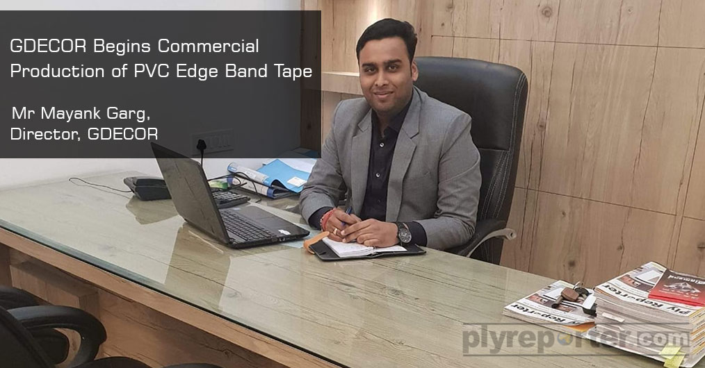 GDECOR Industries is coming up with wide range of collection of PVC edge band tape matching with any laminate of choice.