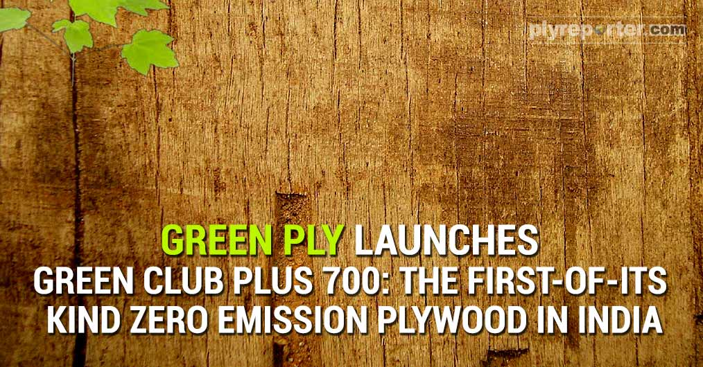 Championing the cause for interior and exterior plywood for healthy homes, plywood major - Greenply Industries Limited, launched all new Green Club Plus Seven Hundred, a first-of-its-kind zero emission plywood in India, a unique product with a brand