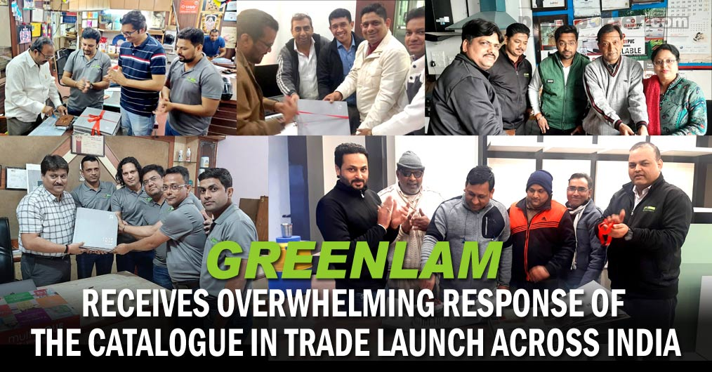 Greenlam Industries Ltd observed trade launch of their new shade card 'Greenlam 2020-22' across the country after its formal introduction to the market in a glittering launch event organised in Baku, Azerbaizan last month.