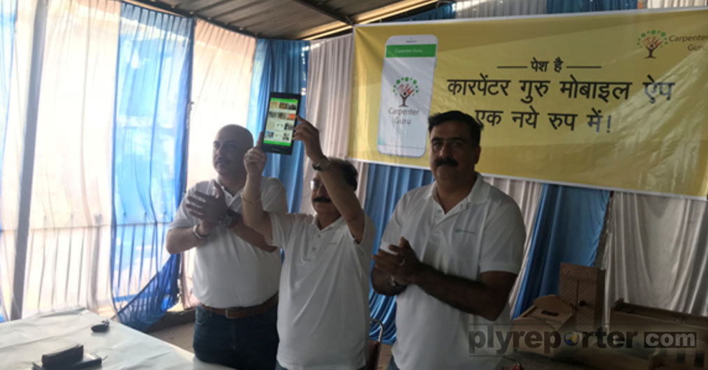 Carpenter Guru mobile app, the first-of-its-kind social initiative for the carpenters was launched on Monday, 11th June through an on-ground event at Kirti Nagar, New Delhi